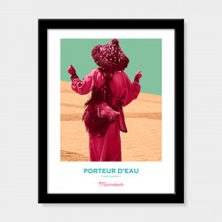 Poster Pop Art Vintage Marrakech :: Art Gardane